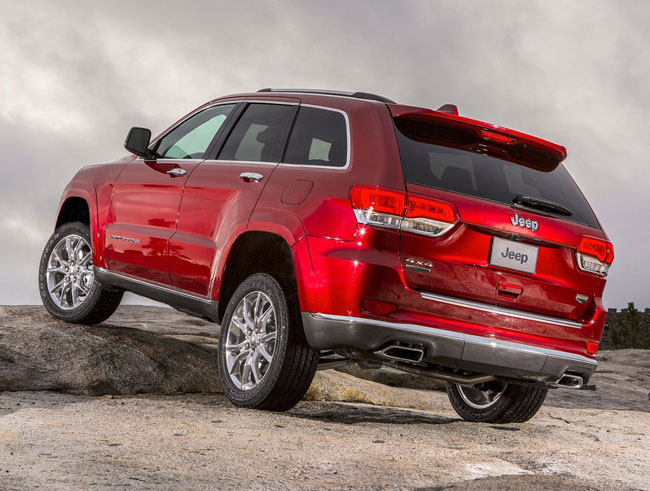 Автошоу в Детройте 2013: Jeep Grand Cherokee
