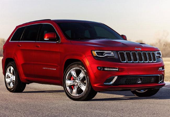 Автошоу в Детройте 2013: Jeep Grand Cherokee SRT8
