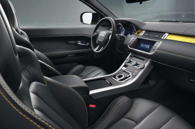 Желтый кроссовер Range Rover Evoque Sicilian Yellow Limited Edition