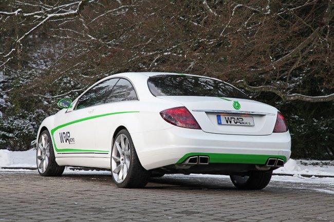 Купе Mercedes-Benz CL500
