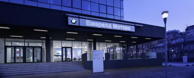 Новый автосалон BMW в Одессе