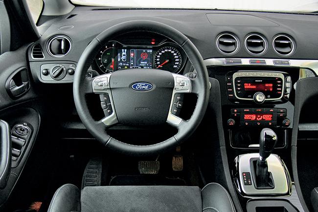 как снять центральную консоль на ford s-max