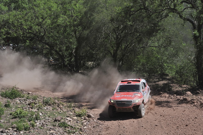 Пилот Great Wall в десятке лидеров ралли Dakar
