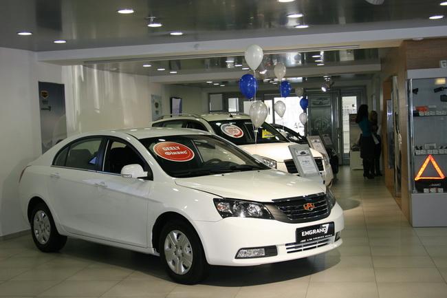 Geely среди самых продаваемых автомобилей в Украине