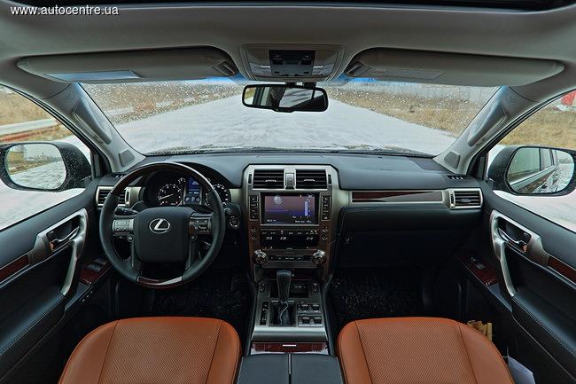 Тест-драйв Lexus GX460