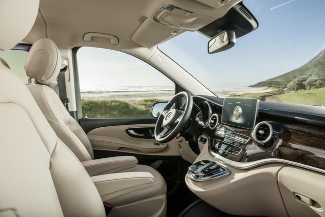 новый Mercedes-Benz V-Class