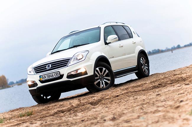 Автомобили SsangYong с выгодой до 10000 грн.