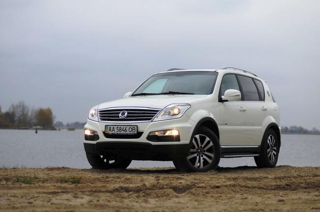 Рост продаж автомобилей SsangYong