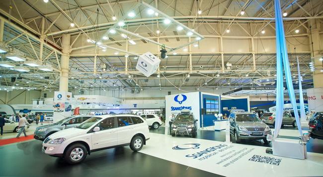 SsangYong увеличил продажи автомобилей за 2013