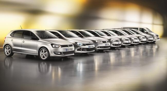Продажи Volkswagen выросли