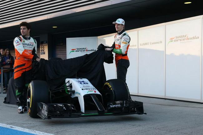 Red Bull Racing, Mercedes и Force India представили новые болиды