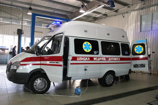 «АИС» предоставит украинским медикам автомобили скорой помощи