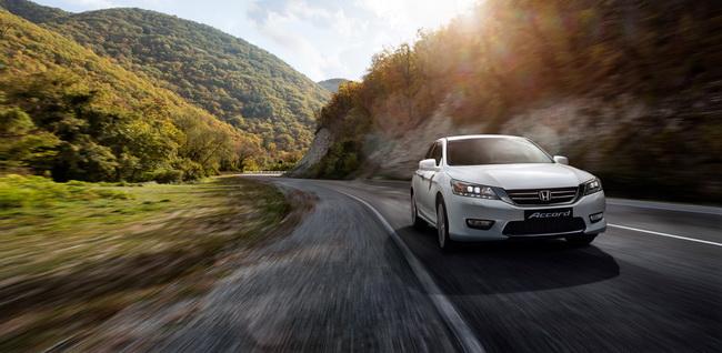 Покупатели Honda Accord получат в подарок бесплатное страхование
