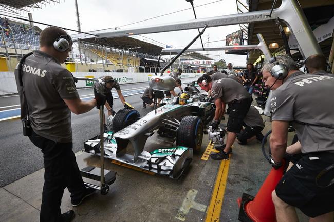 Гонщики Формулы 1 выбрали номера