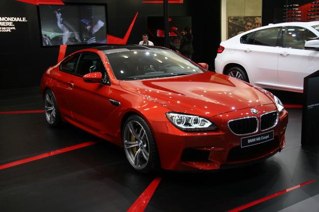 BMW M6 Coupe на Женевском автосалоне 2012