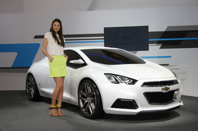 Автосалон Женева 2012: фото новых моделей Chevrolet