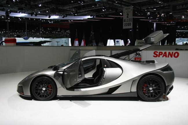 Автосалон в Женеве 2012 GTA Spano