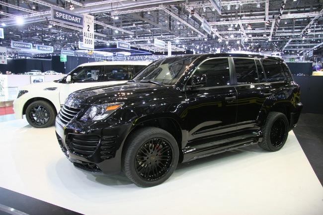 Женевский автосалон 2012 открыл Европе «прокачанный» Nissan Patrol от японского тюнинг-производителя Invader