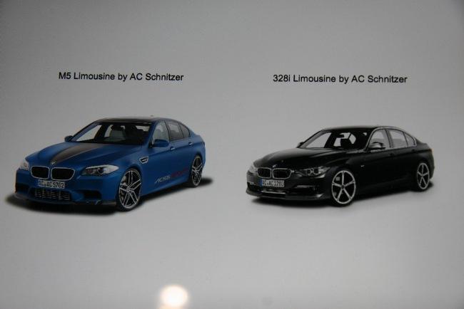 На Женевском автосалоне 2012  AC Schnitzer представило мировую премьеру BMW M5 в собственном исполнении
