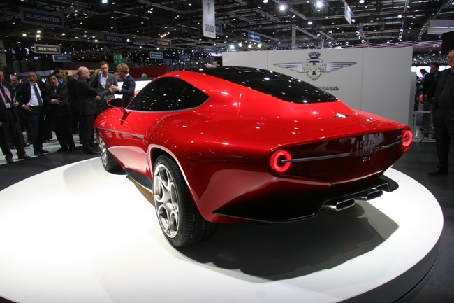 Женевский автосалон 2012 открыл для публики новый спорткар Touring Superleggera Disco Volante