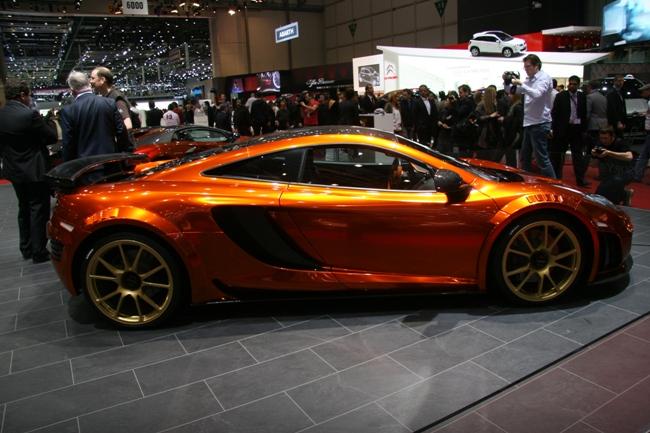 Женевский автосалон 2012 McLaren MP4-12C