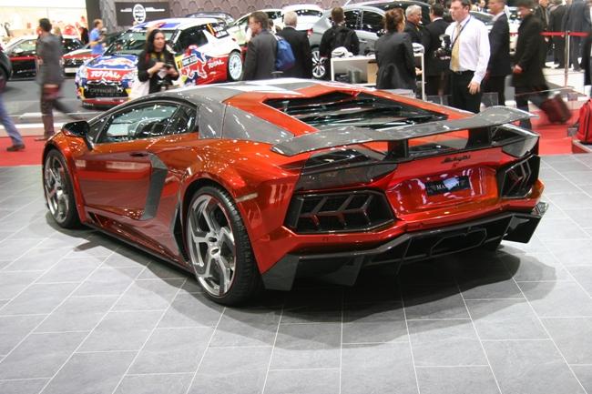 Lamborghini Aventador от Mansory – мировая премьера прокачанного спорткара