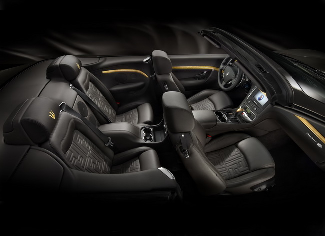 На Женевском автосалоне 2012 компания Maserati презентовала кабриолет GranCabrio Fendi