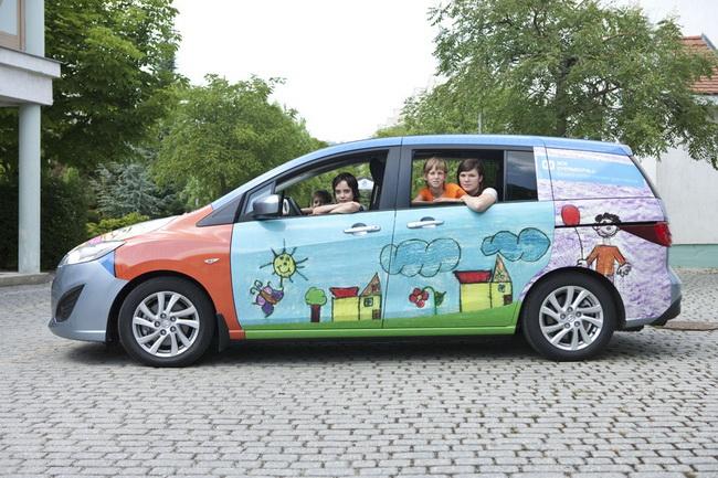 Mazda помогает детям
