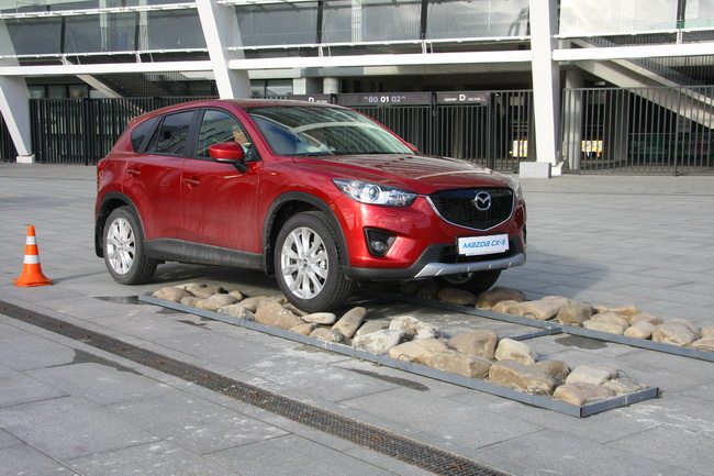 Презентация Mazda CX-5 в Украине