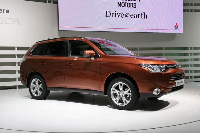 новый Mitsubishi Outlander в Женеве 2012