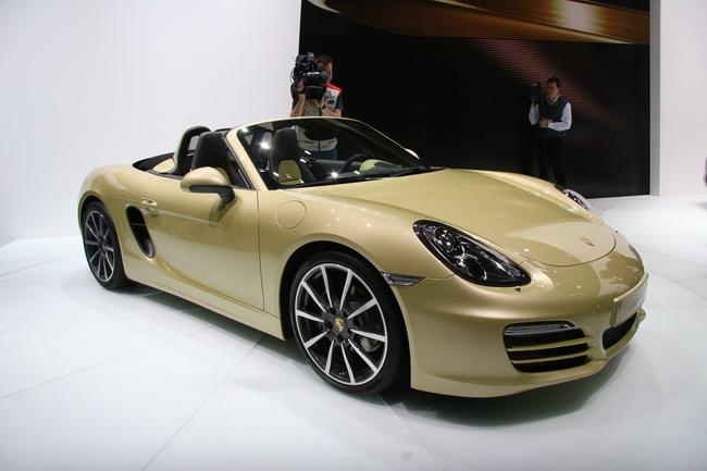 На Женевском автосалоне 2012 компания Porsche презентовала новый Boxster