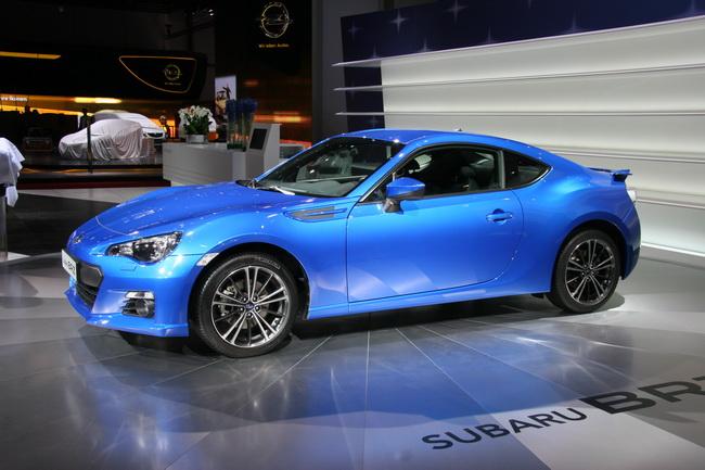 На Женевском автосалоне 2012 компания Subaru состоялся европейский дебют купе BRZ