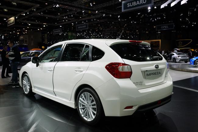 На Женевском автосалоне 2012 Subaru презентовала Impreza нового поколения