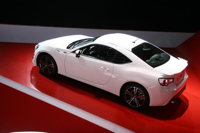 На Женевском автосалоне 2012 компания Toyota презентовала купе GT 86.