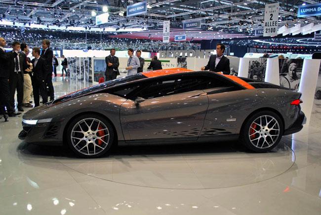 На Женевском автосалоне 2012 показали юбилейный концепт Bertone Nuccio