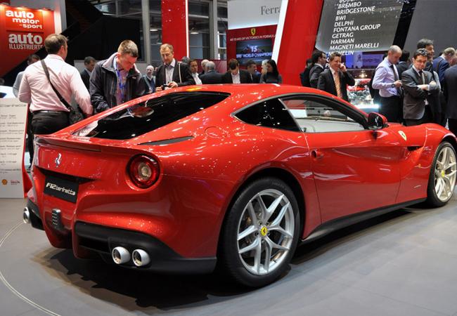 Автосалон в Женеве 2012 Ferrari Berlinetta