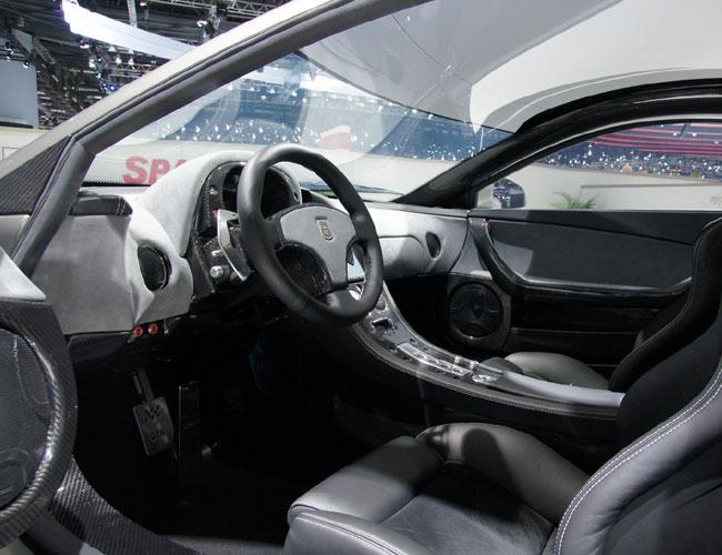Первый испанский гиперкар GTA Spano представлен на Женевском автосалоне 2012