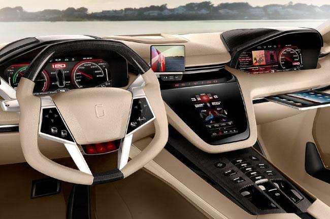 На Женевском автосалоне 2012 VW показал Giugiaro Brivido