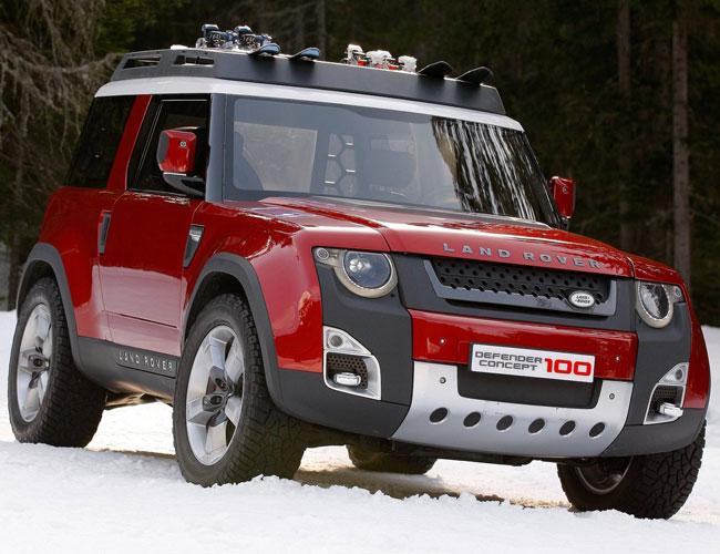 На Женевском автосалоне 2012 Land Rover удивляет смелыми концептами
