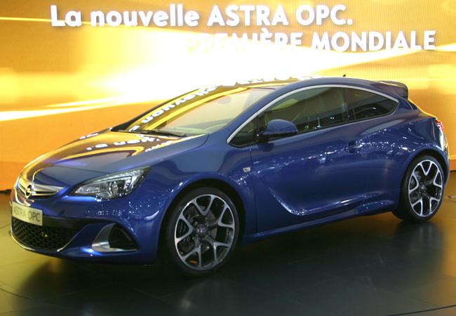 Женева 2012 Opel Astra OPC