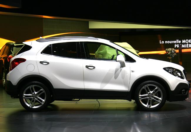 Женева 2012 Opel Mokka