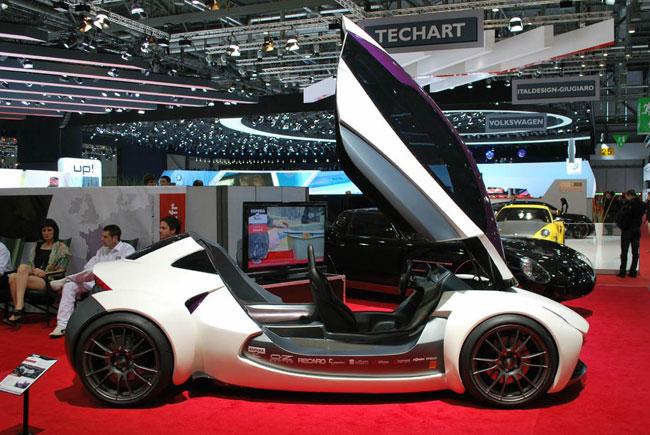 На Женеве 2012 представлен концептуальный Sbarro Intencity