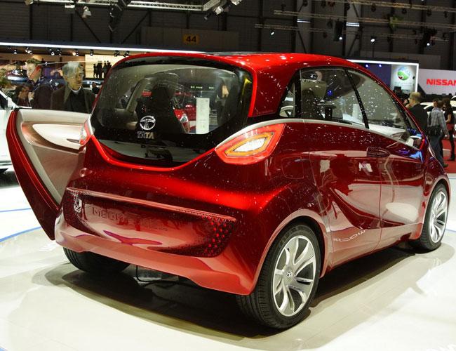 Концептуальный Tata Megapixel дебютировал на Женевском автосалоне 2012