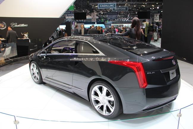 Женевский автосалон 2013: Новый Cadillac ELR