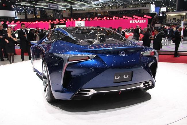Женевский автосалон 2013: новинки Lexus