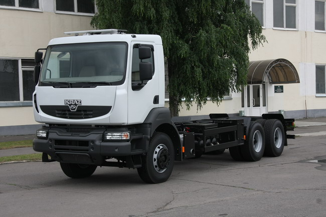 Тест-драйв грузовиков КрАЗ с кабиной Renault