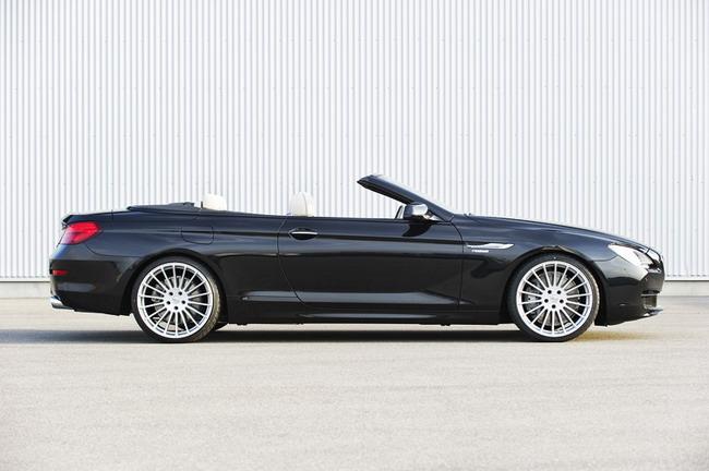 Более серьезные  доработки для кузова BMW 6 Cabrio ателье обещает показать в сентябре во Франкфурте.