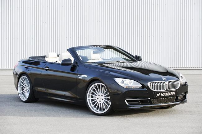 Ателье Hamann Motorsport прокачало BMW 6 Cabrio.