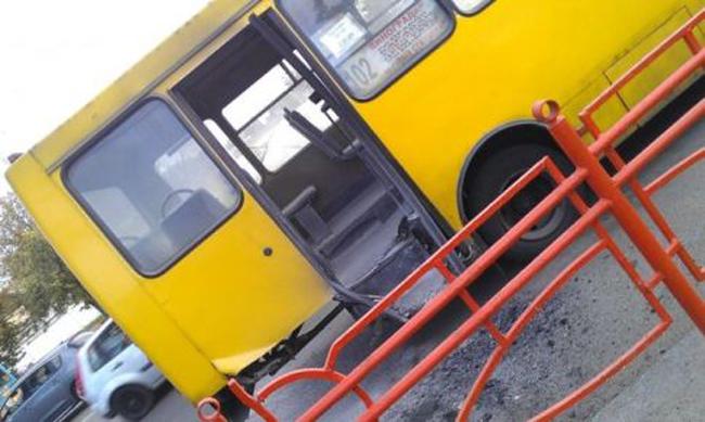 Громкое ДТП в Киеве с участием мотоциклиста