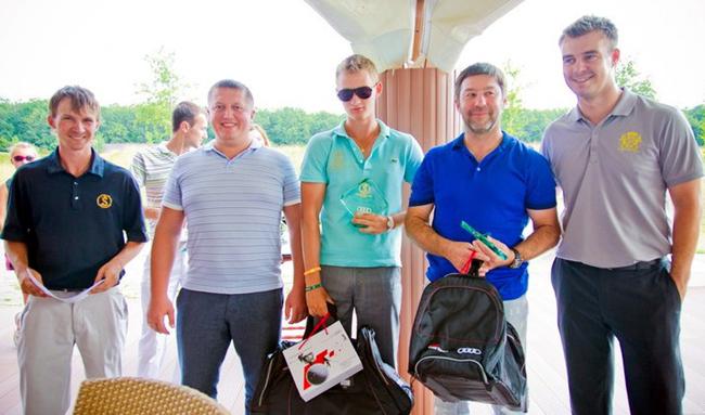 В Харькове прошел турнир по гольфу Audi quattro Cup 2012